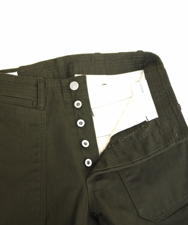 ササフラス FALL LEAF SPRAYER PANTS DUCK