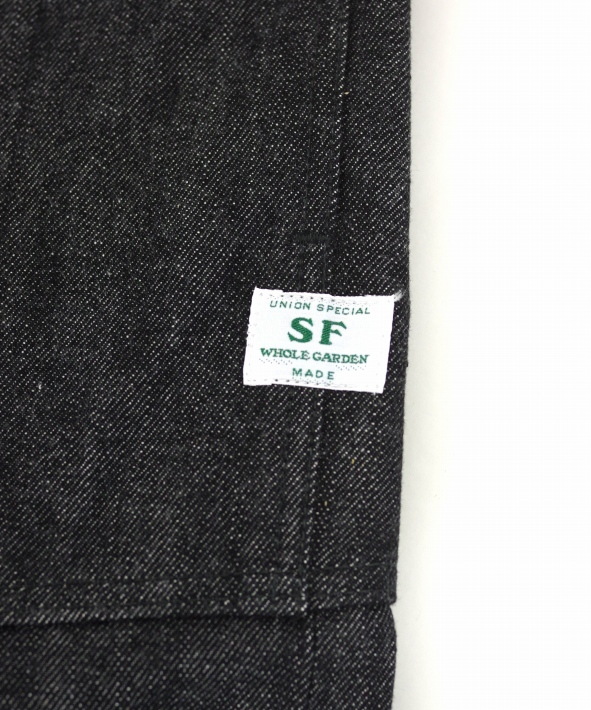 ササフラス Fall Leaf R Spray Pants 14oz Denim