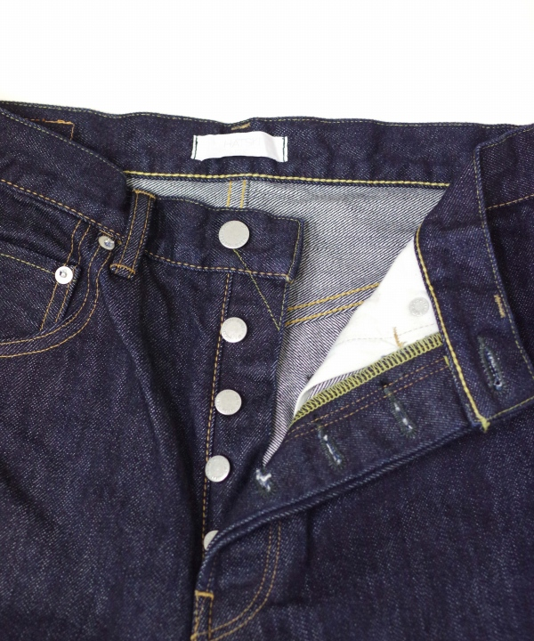 HATSKI/ハツキ Loose Tarperd Denim