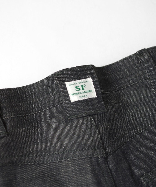 ササフラス Sprayer 5 Pants 14oz Denim
